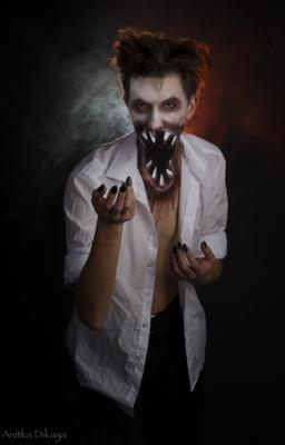 *** портрет, ужас, маскарад, студия. студийный портрет