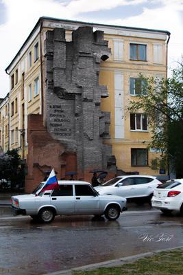 Дом Павлова сквозь время. дом павлова сталинград волгоград день победы