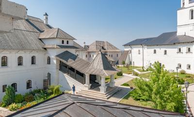 Свияжский Успенский монастырь. Палаты настоятеля. Свияжск