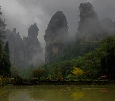 Что может быть лучше плохой погоды? (В поисках Аватара) Китай