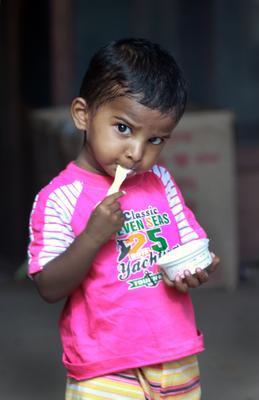 мороженое мороженое, Индия