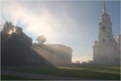 Рождение дня:) Туман рассвет