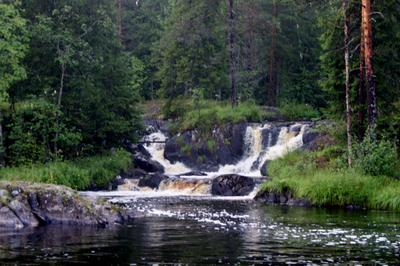 Рускеальские водопады водопад карелия