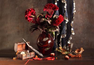 Gypsy Autumn Theme Celosia