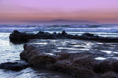 Закат над Атлантикой закат океан пейзаж
