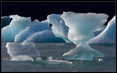 Хрусталь горного озера Argentina, Glacier, Iceberg, Аргентина, ледник, айсберг