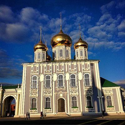 Свято-Успенский кафедральный собор Тула собор