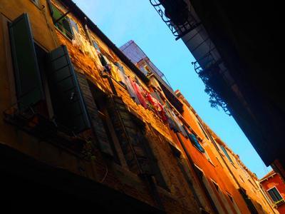 Итальянские улочки. Венеция. Италия узкие улицы