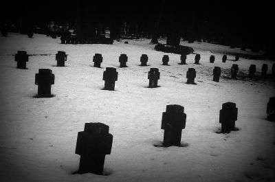 кладбище Валгунде монастырь зима