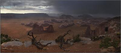 Hunt's Mesa. Одинокий фотограф. Hunt's Mesa
