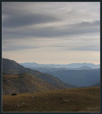 Пора уходить Восточный Казахстан Алтай Рахмановские Ключи горы вечер