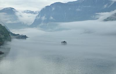 *** ...уходим с риском в облака... норвегия облачность фьорды романтика риск