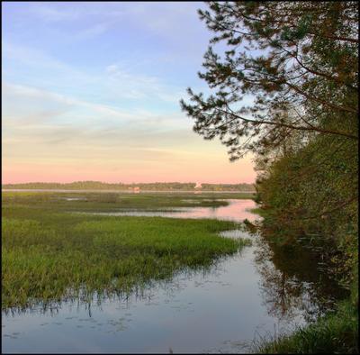 Перед закатом... Озеро Краски северного неба осень