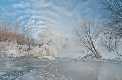 Мороз и солнце 2 мороз солнце облака снег перья река Листвянка