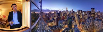 Фотография о том, как Я смотрю на Манхеттен из окна отеля Милленниум  Сергей Семенов Millennium Millenium Manhattan Манхетен