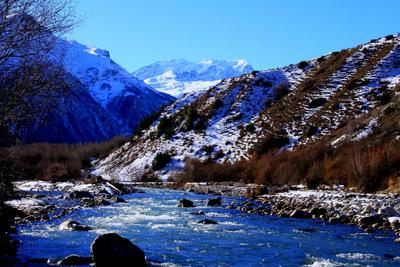 Баксан Кавказ Балкария Приэльбрусье