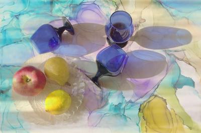 Фруктово-фужерный фрукты фужеры стекло