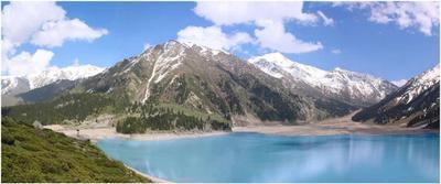 БАО Большое Алматинское озеро, казахстан, заилийский Алатау