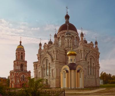 В Казанском монастыре монастырь вера