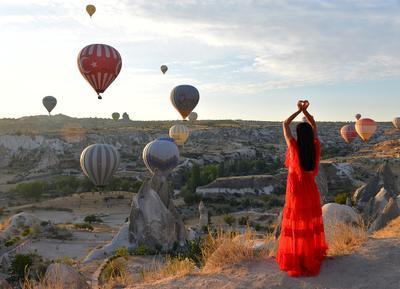 С любовью к Каппадокии Каппадокия Гереме Турция рассвет