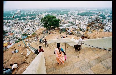 Лестница с неба India, Tamil Nadu, Trichy
