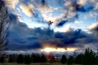 *** Облака небо природа