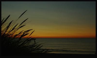 last ray2 море закат вечер ostsee