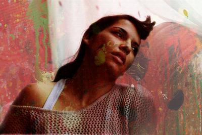 Сара portrait, photoshop