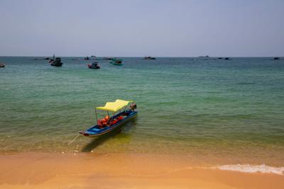 в ожидании туристов Вьетнам о Фукуок море
