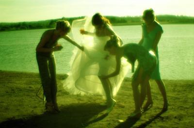 моносвадьба свадьба водоём монокль