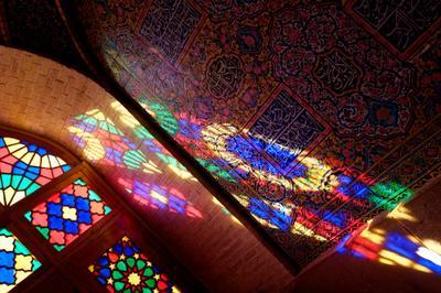 Утро в мечети Насир-аль-Мульк. Шираз. мечеть шираз иран