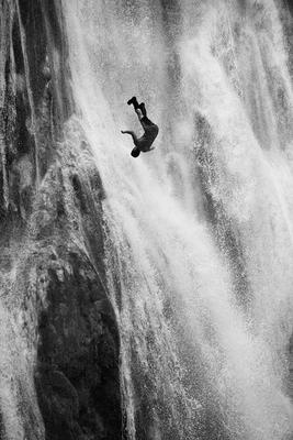 Почти суицид суицид, водопад, Доминиканская республика