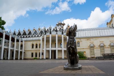Белый Бим театркукол белыйбим памятник