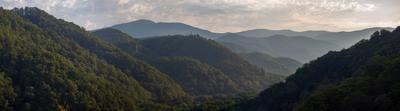 Как просыпаются горы 3 Кавказ Сочи горы пейзаж рассвет Зубова щель ущелье