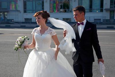 Поймать удачу за фату жених невеста