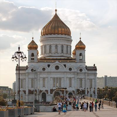 *** ххс, храм христа спасителя москва россия мост