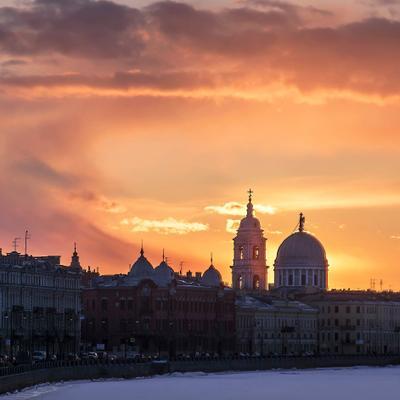 Церковь Святой Великомученицы Екатерины Санкт-Петербург набережная Макарова церковь святой Екатерины