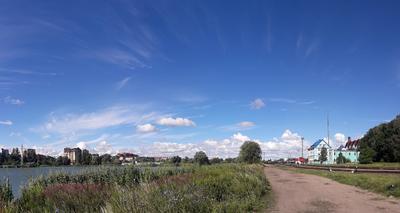 Панорама с ж/д Калининград