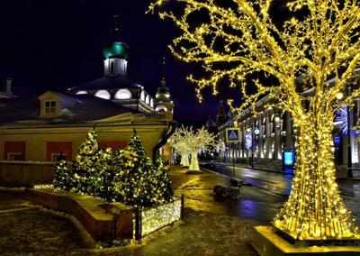 Рождество москва столица праздник рождество утро