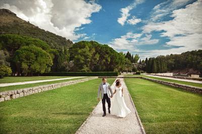 wedding day in Montenegro