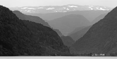 За далем - даль... горы даль озеро Норвегия