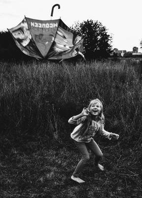 Зонтик и счастье