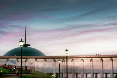 Небо на Поклонной поклонная гора небо архитектура Москва Пастель облака