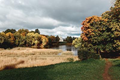 Осень питер санкт петербург осень озеро ораниенбаум дом музей петра 3