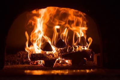 Русская печь Огонь, дрова, печь