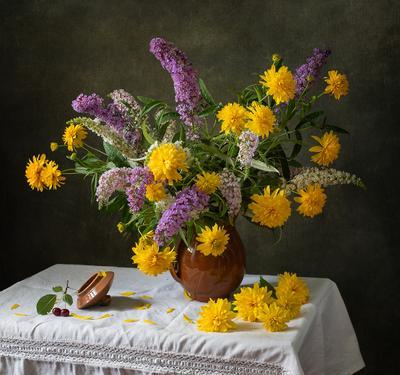 Такое жаркое лето... цветы натюрморт