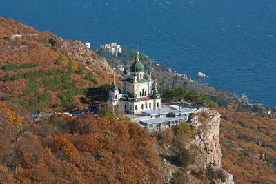 *** Крым Форос ноябрь осень