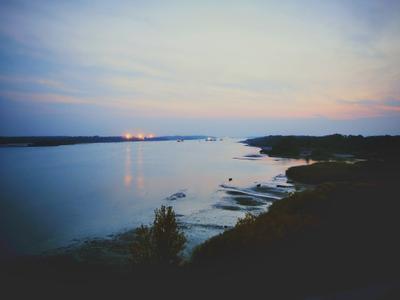 Закат на Дону. ростов-на-дону природа дон пейзаж река небо корабли закат берег синие цвета деревья роща