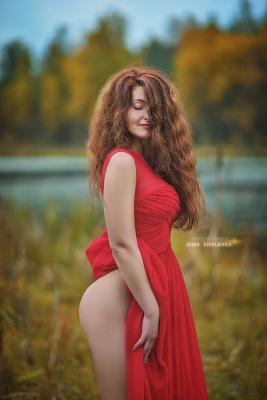 Осень .... nu ню эротика nude art dima smolenko woman Nude Photography sosnovo