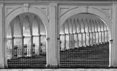 Арки. арки светотень черное-белое Великий Новгород